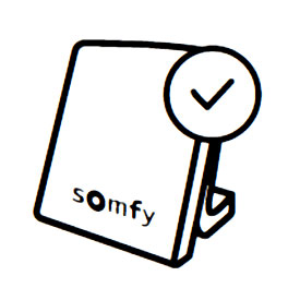 Compatibil Somfy